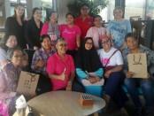 Breast Yourself, kegiatan edukasi kanker payudara oleh Bali Pink Ribbon, Komunitas Pink Fighters Bali dan Artotel Hotel Sanur yang bermitra dengan Koranjuri.com - foto: Koranjuri.com