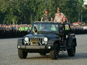 Panglima TNI Marsekal TNI Hadi Tjahjanto, bersama Kapolri Jenderal Tito Karnavian memastikan kesiapan pasukan gabungan Operasi Ketupat 2019, Selasa (28/5/2019) - foto: Bob/Koranjuri.com
