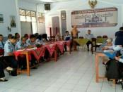 Suasana Case Conference Implementasi  Revitalisasi Pemasyarakatan, di Rutan Purworejo, Selasa (14/5) - foto: Sujono/Koranjuri.com