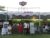 Booth milik Winery Hatten Wines di event Bali Food & Wine Festival - foto: Koranjuri.com