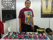 Rudy Ridwan dari Udi Custom Rotary Tattoo Machine - foto: Koranjuri.com
