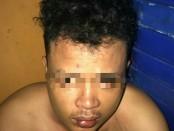 Kepolisian Unit Reskrim Polsek Tambora Polres Metro Jakarta Barat menangkap Muhammad Sony Manggewal (28) pelaku penodongan Suhartono Karyawan Season City - foto: Istimewa