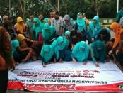 Penandatanganan Deklarasikan Pencanangan Pembangunan Zona Integritas Menuju Wilayah Bebas Korupsi di RSUD dr Tjitrowardojo Purworejo, Jum'at (14/6) - foto: Sujono/Koranjuri.com