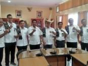 Kunjungan Kerja General Manager PLN UIW NTT bersama rombongan di Kabupaten Rote Ndao - foto: Isak Doris Faot/Koranjuri.com