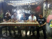 Formasi anyar grup band classik rock asal Bali, Crazy Horse - foto: Koranjuri.com