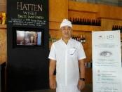Pemilik Kilang Anggur Hatten Wines Ida Bagus Rai Budarsa - foto: Koranjuri.com
