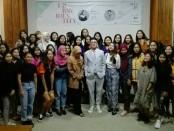 Sosialisasi Wardah Inspiring Young Designer Competition (WIYDC) kepada mahasiswa ISI Denpasar prodi desain fashion di gedung Citta Kelangen, Kamis, 18 Juli 2019 - foto: Koranjuri.com
