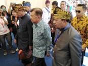Wakil Presiden Jusuf Kalla menghadiri acara puncak Hakteknas Ke-24 di Lapangan Renon, Denpasar, Rabu 28 Agustus 2019 - foto: Koranjuri.com