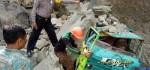 Longsoran Tebing Batu Cadas Timpa Truk, Satu Orang Terluka