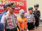 MS, guru ngaji warga Kecamatan Rowokele, Kebumen, kini ditahan polisi karena telah mencabuli balita tetangganya sendiri - foto: Koranjuri.com