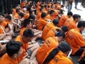 Ratusan tersangka dalam kasus narkoba sepanjang Juni-Agustus 2019 - foto: Bob/Koranjuri.com