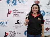 Coorporate Training & Development Manager Hatten Wines yang juga Presiden Indonesia Sommelier Association (ISA) Bali Chapter Kertawidyawati - foto: Koranjuri.com