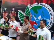 Subdit 1 Psikotroipika Ditresnarkoba Polda Metro Jaya mengungkap Sindikat narkoba jaringan Malaysia-Batam-Jakarta dengan barang bukti 9,5 kg - foto: Bob/Koranjuri.com