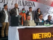 Subdit Harda Ditreskrimum Polda Metro Jaya mengungkap kasus pemalsuan dokumen - foto: Bob/Koranjuri.com