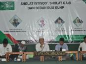 Keterangan foto: Para pemateri dalam acara bedah RUU KUHP di gedung NU Centre Kota Surakarta - foto: Koranjuri.com
