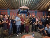 Keterangan foto: Pendiri dan jajaran pengurus yayasan forum budaya mataram/ foto : koranjuri