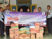 Bakti Sosial Rutan Purworejo dan LPKA (Lembaga Pembinaan Khusus Anak) Kutoarjo, dalam rangka memperingati Hari Dharma Karya Dhika Tahun 2019, Rabu (9/10) - foto: Sujono/Koranjuri.com