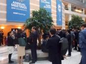 Pertemuan para Menteri Keuangan dan Gubernur Bank Sentral di dunia dalam Annual Meeting 2019 di Gedung Bank Dunia, Washington DC, Amerika Serikat - foto: Dedy Rochendi/channelbali.com