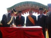 Kementerian Kelautan dan Perikanan (KKP) melalui Direktorat Jenderal Perikanan Budidaya (DJPB) melakukan penandatanganan Nota Kesepakatan dengan Badan Kerjasama Utara Utara (BKSU) di Kabupaten Buol, Sulawesi Tengah, Sabtu (12/10/2019) - foto: Istimewa
