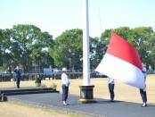 Pelaksanaan Upacara memperingati Hari Pahlawan Tahun 2019 di Lapangan Dirgantara Lanud Adi Soemarmo - foto: Istimewa