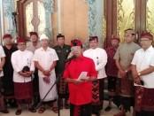 Gubernur Bali Wayan Koster saat melaunching Pergub Nomor 47 Tahun 2019 Tentang Pengelolaan Sampah Berbasis Sumber di Jaya Sabha, Denpasar, Kamis, 21 November 2019 - foto: Koranjuri.com