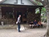 Rumah orang tua Markino di Dusun Sutoragan, Desa Sumbersari, Butuh, Purworejo - foto: Sujono/Koranjuri.com