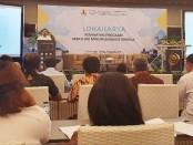 Lokakarya Peminatan Hibah Air Minum Berbasis Kinerja dari Kementerian PUPR, yang dilaksanakan selama tiga hari, dari Senin (28/10) hingga Rabu (30/10) di Eastpark Hotel, Yogyakarta - foto: Sujono/Koranjuri.com