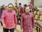 Rapat Paripurna ke-3 DPRD Provinsi Bali terkait dengan Pandangan Umum Fraksi terhadap sejumlah Raperda di ruang Sidang Utama Kantor DPRD Provinsi Bali di Denpasar, Rabu (6/11/2019) - foto: Istimewa