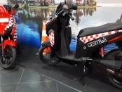 Penampilan motor Gesit Bali, motor listrik berbasis baterai - foto: Istimewa