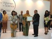 4 ilmuwan perempuan Indonesia menerima anugerah L'Oréal-UNESCO For Women in Science (FWIS) National Fellowships yang tahun telah diadakan ke-16 kali - foto: Istimewa