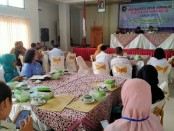 Dinperinaker Kabupaten Purworejo sosialisasikan UMK 2020 di Hotel Sanjaya Inn, Rabu (27/11), dihadiri oleh seratus pengusaha dan Dewan Pengupahan - foto: Sujono/Koranjuri.com