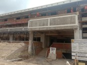 Proyek pembangunan gedung parkir, laboratorium media rekam Institut Senin Indonesia (ISI) Denpasar - foto: Istimewa