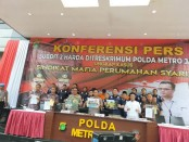 Sub Direktorat Harta Benda 2 (Subdit Harda 2) Polda Metro Jaya mengungkap kasus penipuan berkedok perumahan syari'ah - foto: Bob/Koranjuri.com