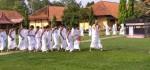 Ratusan Siswa SMPN 26 Purworejo Ikuti Manasik Haji