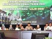 Rapat Koordinasi Lintas Sektoral Bidang Operasional Tahun 2019 dalam rangka Persiapan Operasi Lilin 2019 di auditorium STIK/PTIK, Jakarta Selatan. Jumat, 13 Desember 2019 - foto: Bob/Koranjuri.com