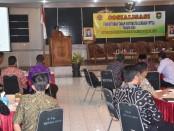 Sosialisasi PTSL 2020 dari BPN Purworejo di ruang Arahiwang, Setda Kabupaten Purworejo, Kamis (19/12/2019) - foto: Sujono/Koranjuri.com