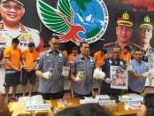 Sejumlah pelaku peredaran narkoba jaringan Lapas berhasil digulung Subdit 1 Ditres Narkoba Polda Metro Jaya - foto: Bob/Koranjuri.com