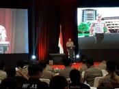 Jumpa pers akhir tahun di Auditorium PTIK, Kebayoran, Jakarta Selatan, Sabtu, 28 Desember 2019 - foto: Bob/Koranjuri.com