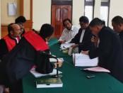 Sidang lanjutan kasus yang menjerat Harjanto Karjadi menghadirkan 4 saksi, Rabu, 4 Desember 2019 - foto: Istimewa