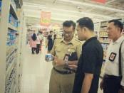 Disperindag Bali menggelar sidak di dua supermall terbesar di Bali, Senin, 9 Desember 2019 - foto: Istimewa