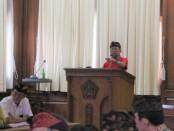 Gubernur Wayan Koster memimpin rapat pleno bersama Kepala OPD, yang digelar di Gedung Gajah atau Rumah Jabatan Gubernur Bali, Jaya Sabha, Denpasar, Kamis, 9 Januari 2020 - foto: Istimewa