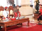 Gubernur Bali Wayan Koster bertemu Kepala Perwakilan BI Provinsi Bali Trisno  Nugroho - foto: Istimewa
