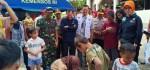Dandim Jaktim Dampingi 2 Menteri Kunjungi Korban Banjir