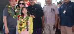 Wagub Sambut Pendaratan Pertama Penerbangan Hanoi-Bali