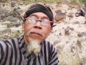 Ki Samar, seorang ahli ilmu matematik metafisik dari Purworejo - foto: Sujono/Koranjuri.com