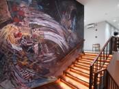 Interior baru kantor operasional Diageo Indonesia di Bali menambah keindahan desain kantor dan membangkitkan semangat para karyawan dalam bekerja - foto: Istimewa