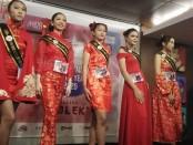 Model peserta di ajang Competition the Best Model of the Year 2020 yang digelar di Fame Hotel Sunset Road, Bali - foto: Koranjuri.com