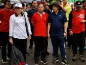 Gubernur Bali Wayan Koster bersama istri Putri Suastini Koster, mengajak Mendagri Tito Karnavian bersama istri. Kapolda Bali Irjen. Pol Petrus Reinhard Golose, beserta Istri dan jajaran Polda Bali juga meramaikan acara itu, Minggu, 9 Februari 2020 - foto: Istimewa