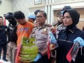 TDP pelaku pembunuhan terhadap ibu mertuanya sendiri berhasil ditangkap Kepolisian Resor Sidoarjo - foto: Istimewa