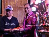Hadiri CoE Banjarmasin, Gubernur Bali Wayan Koster menepis Bali jadi 'Kota Hantu' akibat dampak covid-2019 - foto: Istimewa
